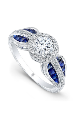 Beverley K Halo Engagement Ring R9662 product image
