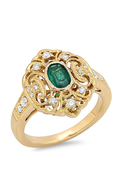 Beverley K Color Engagement ring R10000A-DEM product image