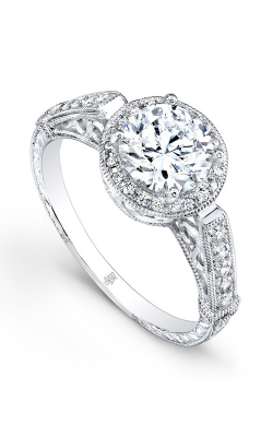 Beverley K Vintage Engagement Ring R9234A-DDCZ product image