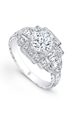 Beverley K Vintage Engagement Ring RTJ013A-DDCZ product image