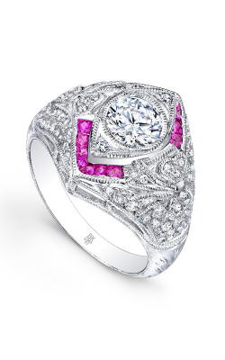 Beverley K Color Engagement Ring R9281-DRCZ product image