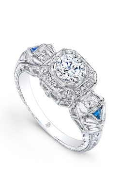 Beverley K Color Engagement Ring R9285A-DSCZ product image