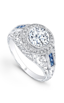 Beverley K Color Engagement Ring R9307A-DSCZ product image