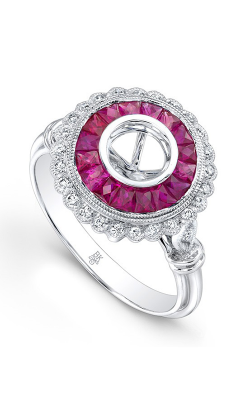 Beverley K Color Engagement Ring R9459A-DRM product image