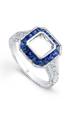 Beverley K Color Engagement ring R9465A-DSM product image