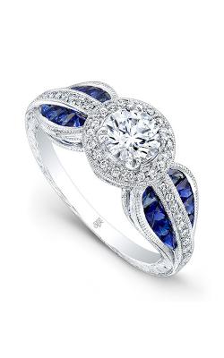Beverley K Color Engagement ring R9662A-DSCZ product image