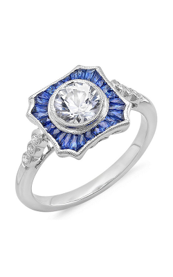 Beverley K Color Engagement ring R9924A-DSWS product image