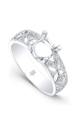 Beverley K Floral Engagement Ring R9789A-DDM product image