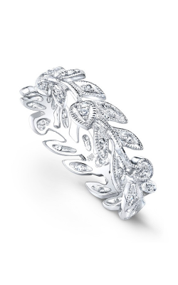 Beverley K Floral Wedding Band R6814-DD product image