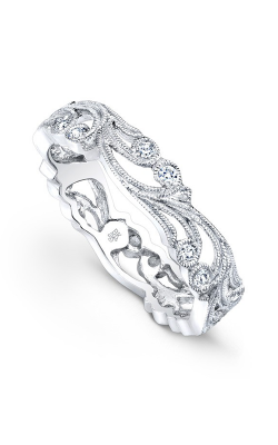 Beverley K Floral Wedding Band R708-DD product image