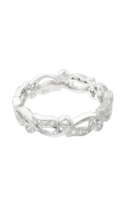 Beverley K Floral Wedding Band R748-DD product image