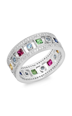 Beverley K Wide Wedding band R10033-DAQRSYSTS product image