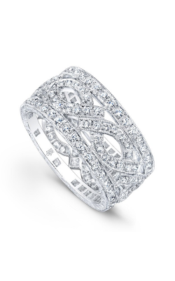 Beverley K Wide Wedding band R724-DD product image