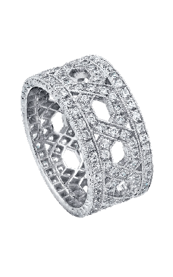 Beverley K Wide Wedding band R742-DD product image