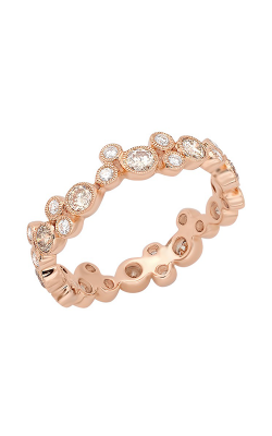Beverley K Stackable wedding band R10011-DCOGNAC product image