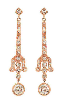Beverley K Earrings E9342A-COGNAC product image