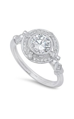 Beverley K Halo Engagement ring R389 product image