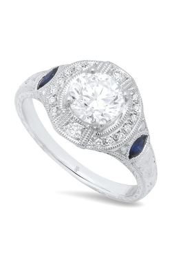 Beverley K Halo Engagement ring R9434 product image