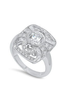 Beverley K Halo Engagement Ring R10529 product image