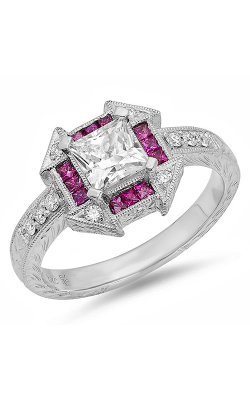 Beverley K Halo Engagement Ring R10117 product image