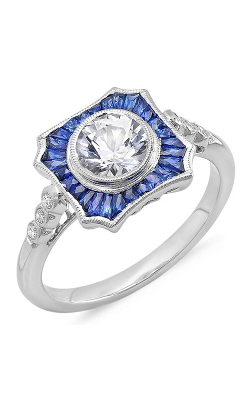 Beverley K Halo Engagement Ring R9924 product image