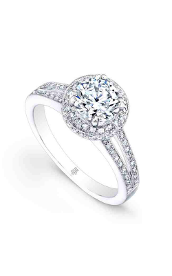 Beverley K Halo Engagement ring R9236 product image