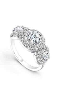 Beverley K Halo Engagement ring R9004 product image