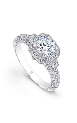 Beverley K Halo Engagement ring R367 product image