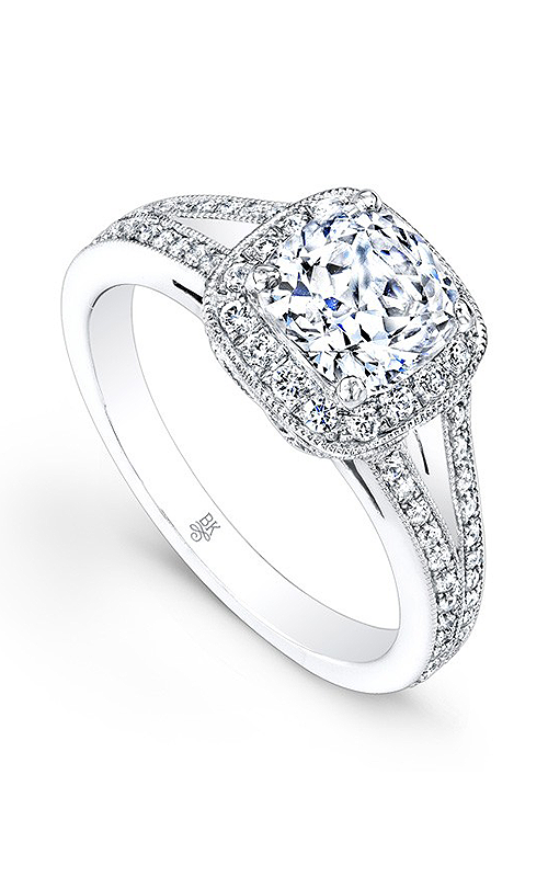 Beverley K Split Shank Engagement ring R1184A-DDCZ product image