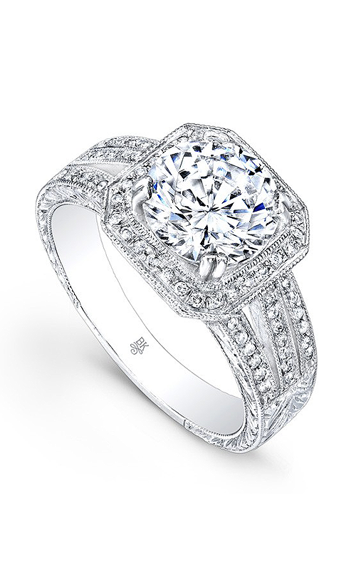 Beverley K Split Shank engagement ring R667A-DDM product image