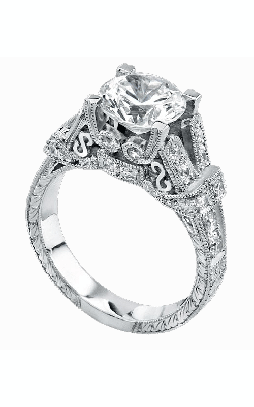 Beverley K Split Shank Engagement ring R754A-DDCZ product image
