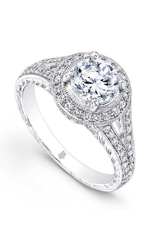 Beverley K Split Shank Engagement ring R9152A-DDM product image