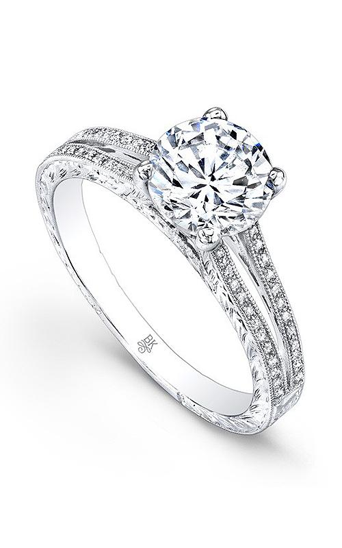 Beverley K Split Shank engagement ring R9235A-DDCZ product image