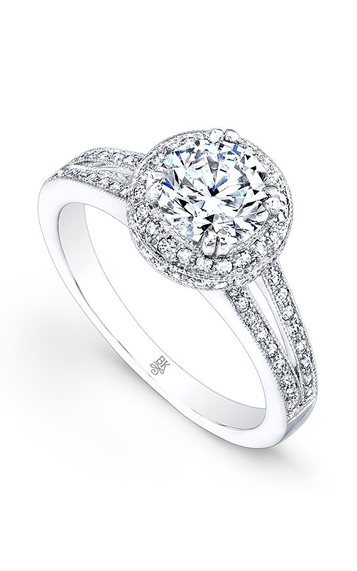 Beverley K Split Shank engagement ring R9236A-DDCZ product image