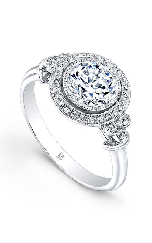 Beverley K Halo Engagement ring R9409 product image