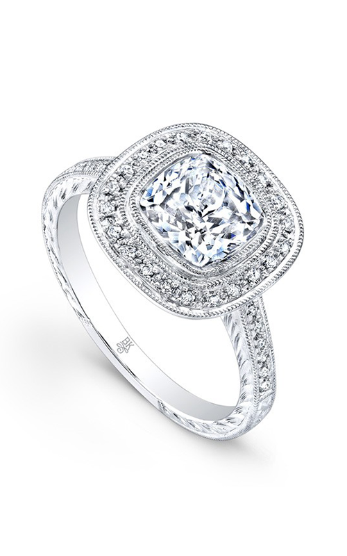 Beverley K Halo Engagement ring R9413A-DDCZ product image