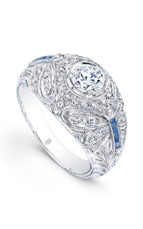 Beverley K Color Engagement ring R9291A-DSCZ product image