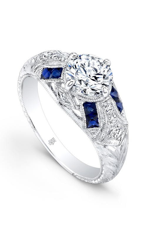 Beverley K Color engagement ring R9415A-DSCZ product image