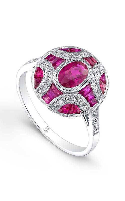 Beverley K Color Engagement ring R9426A-DRR product image