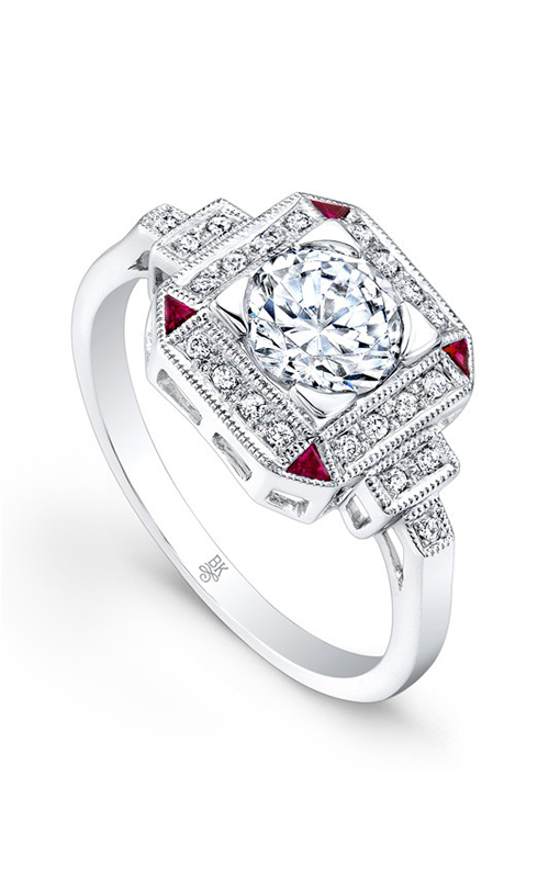 Beverley K Color Engagement ring R9427A-DRCZ product image