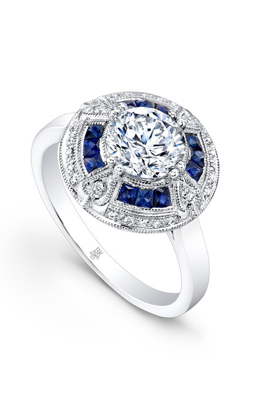 Beverley K Color Engagement ring R9432A-DSCZ product image