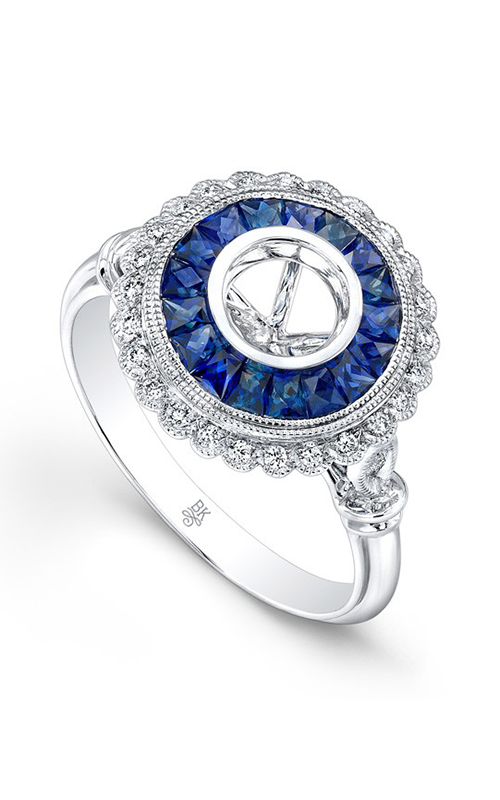 Beverley K Color Engagement ring R9459A-DSM product image
