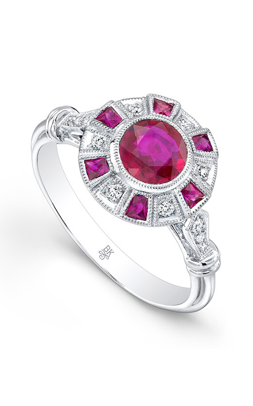 Beverley K Color Engagement ring R9460A-DRR product image