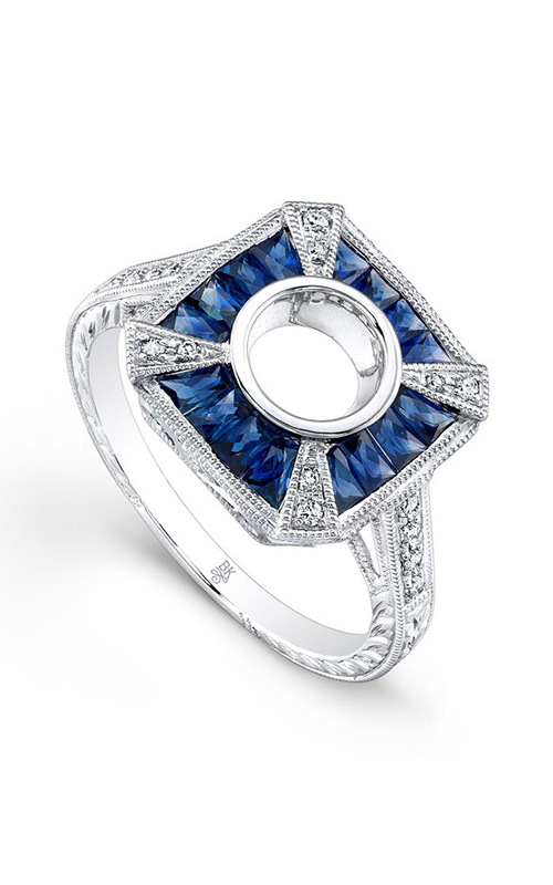 Beverley K Color Engagement ring R9462A-DSM product image