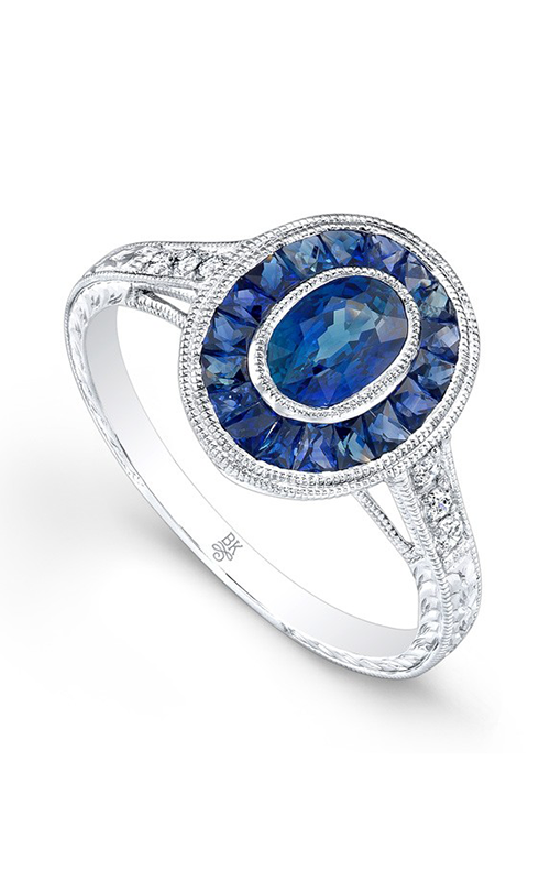 Beverley K Color Engagement ring R9464A-DSM product image