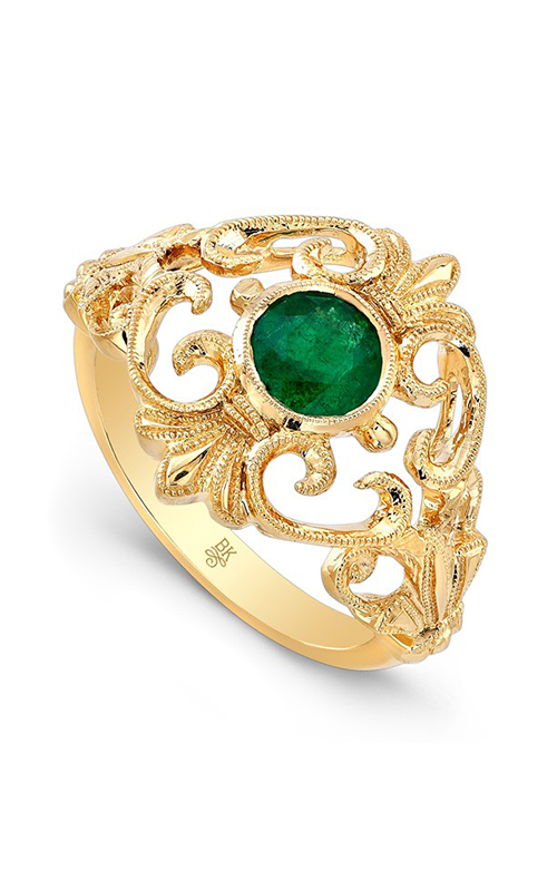Beverley K Color engagement ring R9796A-EMERALD product image