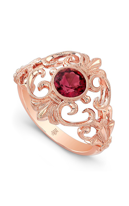 Beverley K Color Engagement ring R9796A-PINK TOURMALINE product image