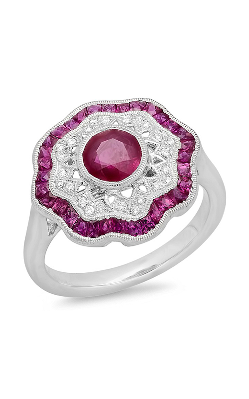 Beverley K Color Engagement ring R9929A-RDR product image