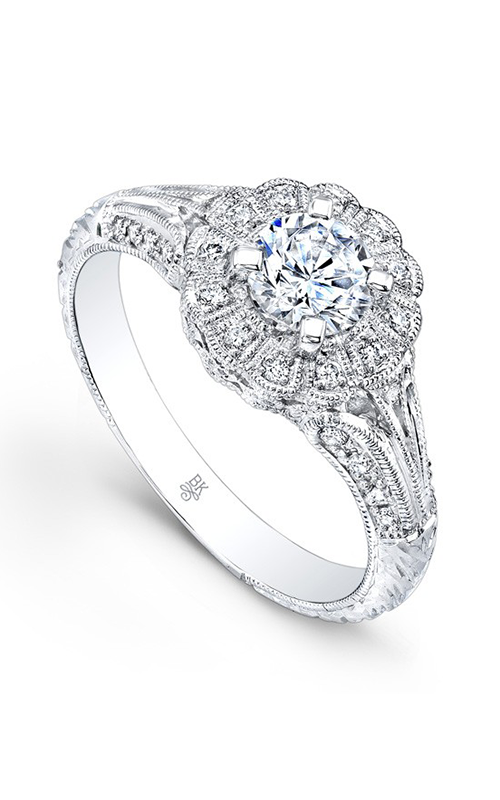 Beverley K Floral Engagement ring R170A-DDM product image