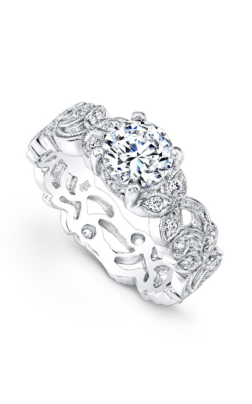 Beverley K Floral engagement ring R763A-DDCZ product image